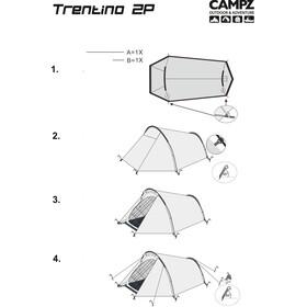 CAMPZ Trentino 2P Teltta, beige